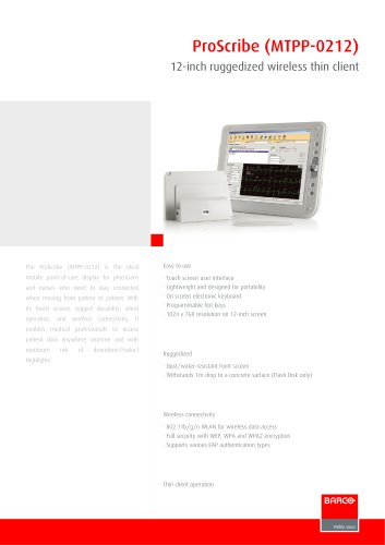 ProScribe (MTPP-0212) leaflet