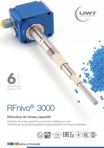 Détecteur de niveau capacitif RFnivo®3000 fr