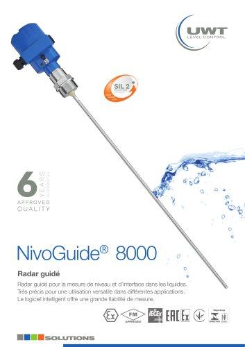 Radar Guidé NivoGuide® NG 8000 pour les liquides