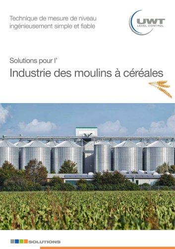 Solutions pour l´industrie des moulins à céréales
