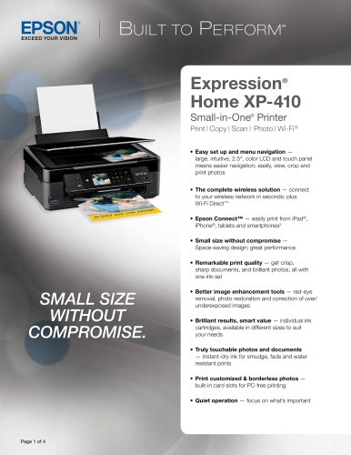 Expression Home XP-410