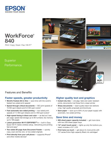 WorkForce® 840