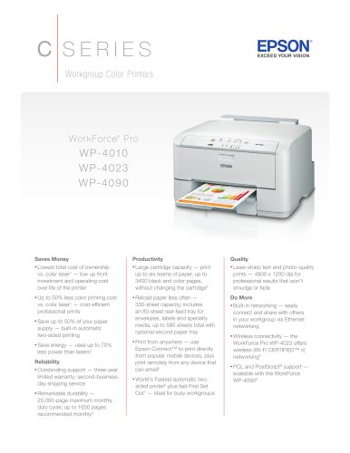 WorkForce Pro WP-4010