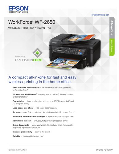 workforce WF-2650