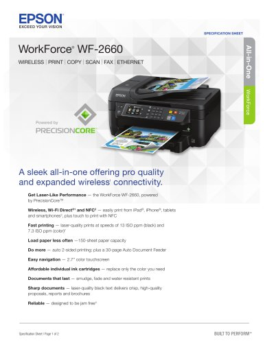 WorkForce WF-2660