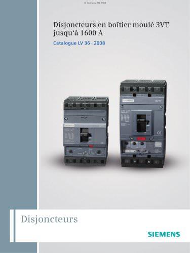 LV 36 - 2008 - Disjoncteurs 3VT