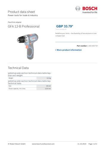 GFA 12-B Professional