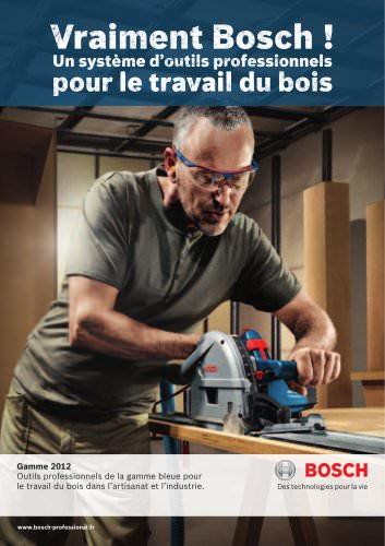 Un système d'outils professionnels pour le travail du bois