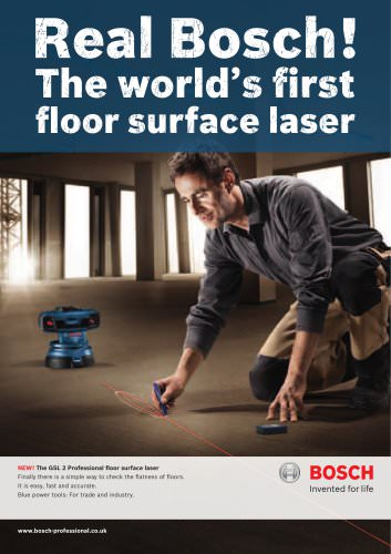 ?The world?s first ?floor surface laser