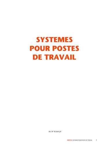 MiniTec systemes manuelles pour postes de travail