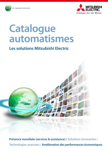 Catalogue automatismes Les solutions Mitsubishi Electric