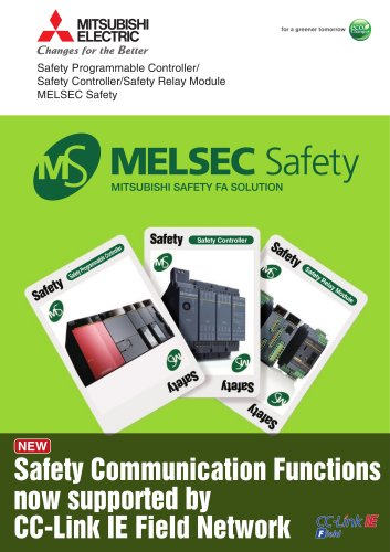 QS Safety PLC and CC-Link Safety