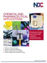 NDC Chemical and Pharmaceutical Applications