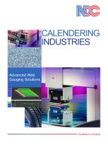 NDC Rubber Calendering Applications