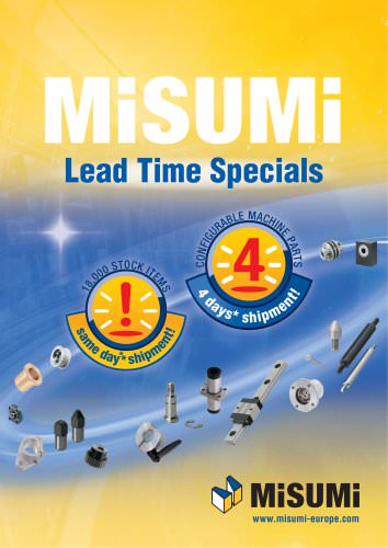 Lead Time Specials