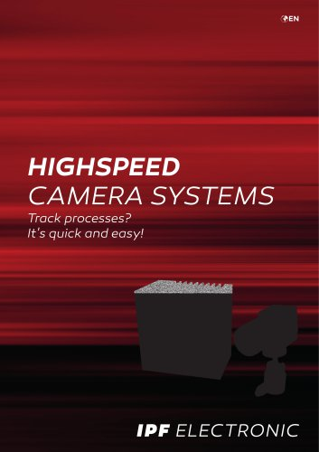 HIGHSPEED CAMERA SYSTEMS