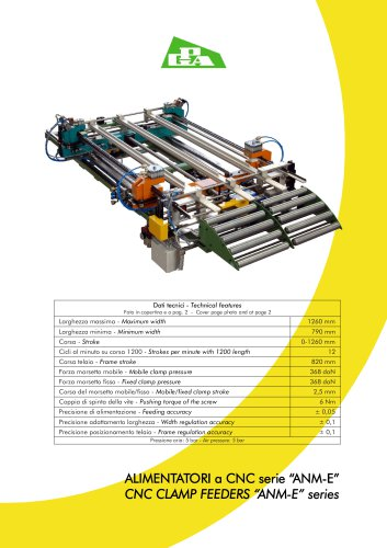 CNC CLAMP FEEDERS