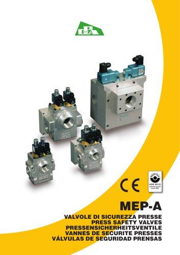 Press safety valves