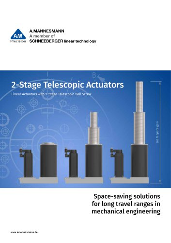 2-Stage Telescopic Actuators