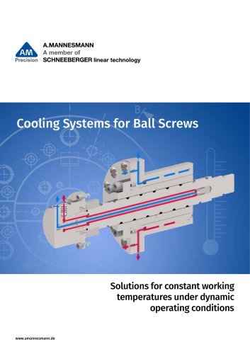 Cooling Systems for Ball Screws