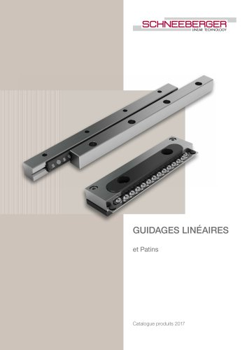 Schneeberger - Linear Bearings