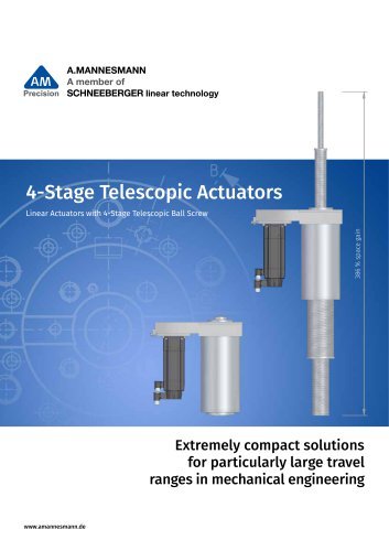 Stage Telescopic Actuators