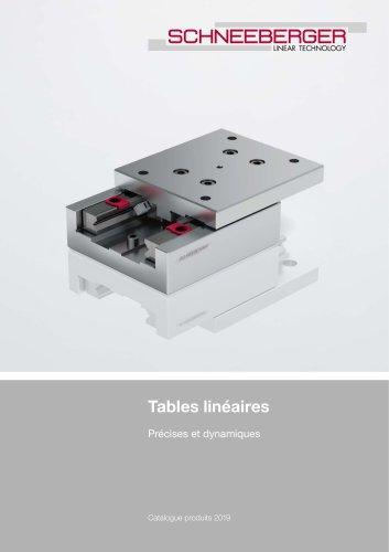 Tables linéaires - Précises et dynamiques