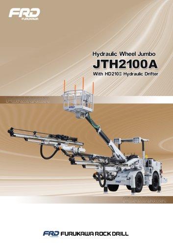 Hydraulic wheel jumbo JTH2100A with HD210II hydraulic drifter