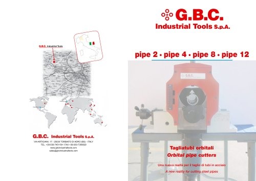 GBC Orbital Pipe Saw