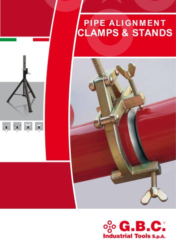 PIPE ALIGNMENT CLAMPS & STANDS