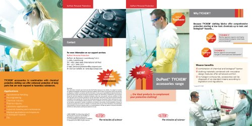 DuPont™ TYCHEM ® Accessories