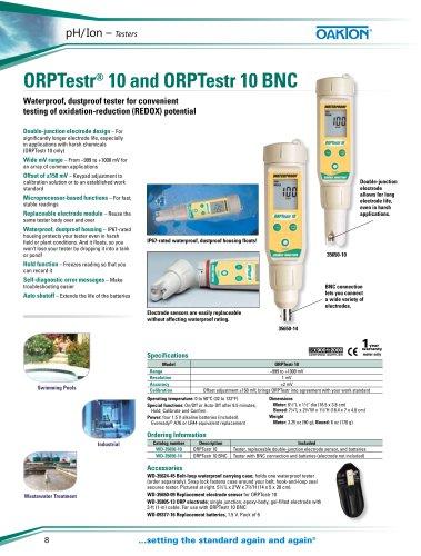 ORPTestr® 10 and ORPTestr 10 BNC