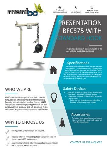 BALANCER BFCS75 - STANDARD HOOK
