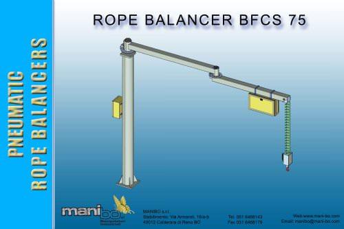 Pneumatic rope balancer MANIBO 75 kg