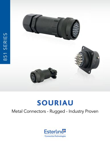 851 Series for Jacketed Cable (IP68 upgrade) Catalog
