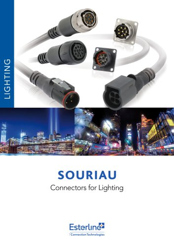 Connectors & capabilities for lighting