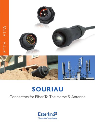 Connectors for Fiber to the Home & Fiber to the Antenna