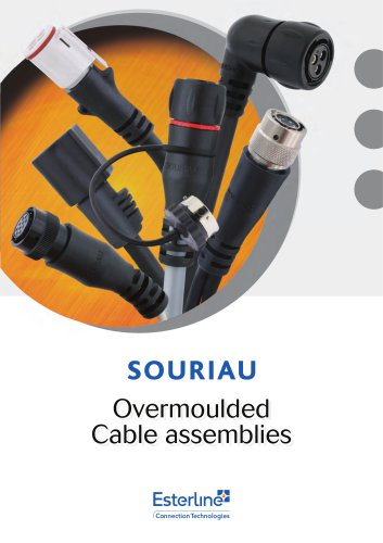 Overmoulded Cable assemblies