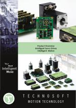 Product Overview Intelligent Servo Drives and Motors