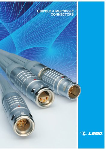 B series connector - Unipole Multipole General Catalog