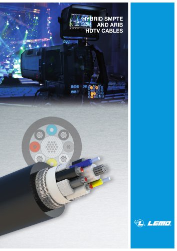 Broadcast ARIB / SMPTE cable