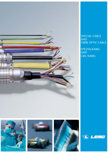 Cable special and fiber optic
