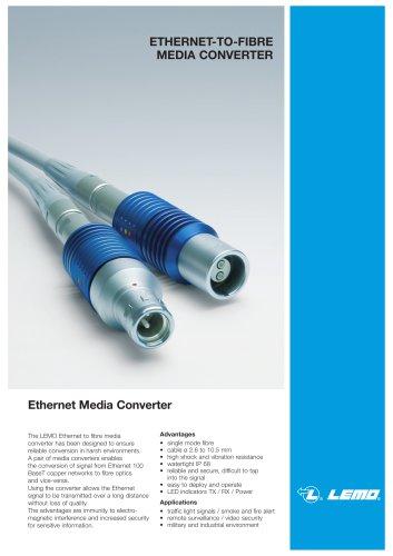 ETHERNET-TO-FIBRE MEDIA CONVERTER