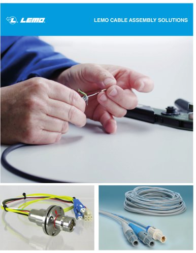 LEMO CABLE ASSEMBLY SOLUTIONS