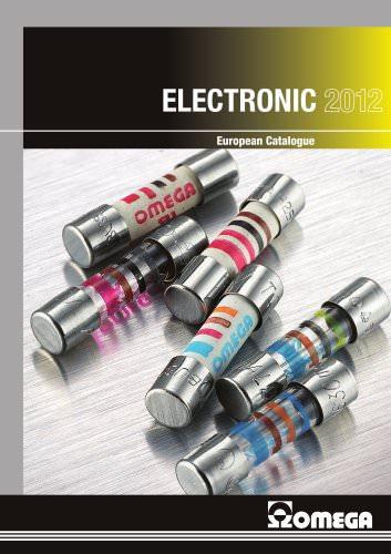 EUROPEAN CATALOGUE 2012 - ELECTRONIC