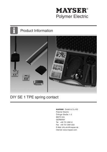 DIY SE 1 TPE spring contact