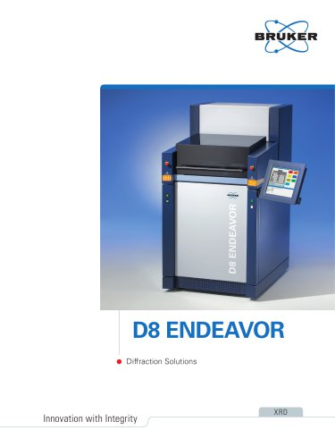 D8 ENDEAVOR - Diffration Solutions