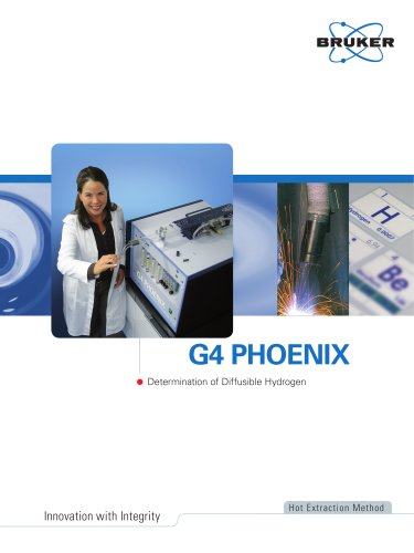 G4 PHOENIX - Determination of Diffusible Hydrogen