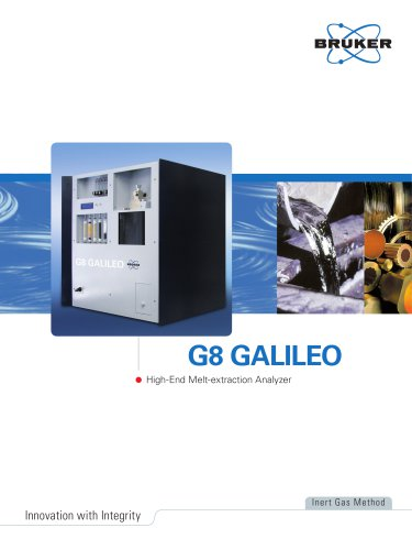 G8 GALILEO - High-end Melt-extraction Analyzer