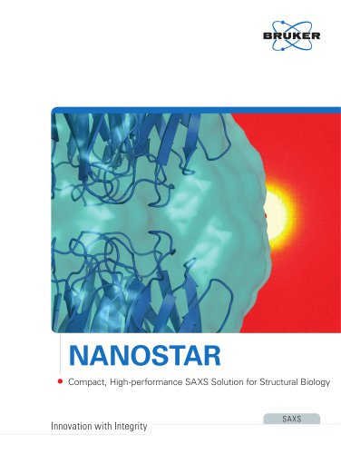 NANOSTAR - Compact, High-performance SAXS Solutions for Structrural Biology